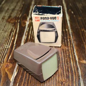 Vintage / Antique   GAF PANA-VUE 5 2X2 Slide Viewer 6565   Original Box 📸