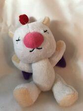 "Final Fantasy Moogle Mini Mascot Plush Keychain 5"" Official Square Enix Product"