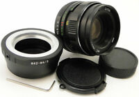 ⭐NEW⭐ MC HELIOS 44m-4 Lens + Adapt. Micro M 4/3 MFT Mount Olympus PEN OM-D Lumix