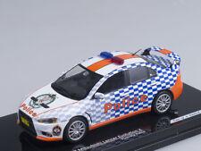 1/43 Scale model Mitsubishi Lancer Evolution X Australia Police