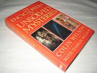 SCARCE SIGNED Colin Wilson Encyclopedia of Unsolved Mysteries FIRST DW 1987 1st