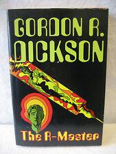 Gordon R Dickson THE R-MASTER vintage 1973 science fiction hardcover book HC DJ