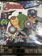 Marvel Avengers Origami & Fun Fold Ups Ages 7+ Brand New