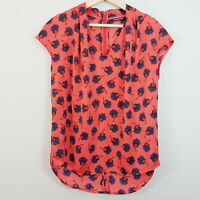 [ COUNTRY ROAD ] Womens Floral Print Top  | Size S or AU 10
