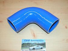 90° Silikonschlauch 50mm Blau  *NEU* Bogen für Ladeluftrohre Silikonbogen 50 mm