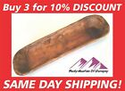 """HAND CARVED WOODEN DOUGH BOWL RUSTIC TRAY WOOD TRENCHER 18-22"""" ANTIQUE VINTAGE"""
