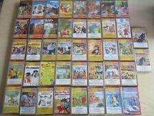 42 x MC´s Hörspiele Abenteuer & Kinder EUROPA gelb weiß alte Auflage