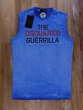 DSQUARED2 t-shirt blue slim-fit Italy mens authentic Size Small NWT
