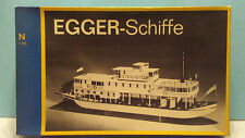 EGGER-Schiffe N scale River Paddleboat Kit - New
