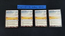 4x Secluded Steppe   Commander   MTG Magic The Gathering Cards