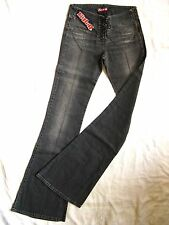 Killah by Miss Sixty Jeans Stretch W26/L36 Denim x-low waist slim fit flare leg