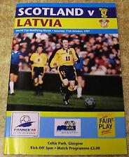 Teams L-N Latvia World Cup Football Programmes