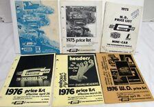 Vintage 1970s Mr Gasket Performance Parts & Accessories Price Lists Drag Race