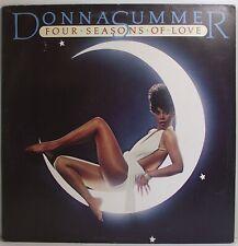 """DONNA SUMMER Four Seasons Of Love LP Album 12"""" 33rpm Vinyl EX"""