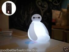 InfoThink Disney Nightlight Big Hero 6 Baymax USB LED Lamps With Remote Control