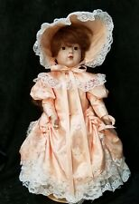"""Bru Jne 8 Reproduction 17"""" Doll All Bisque Fully Dressed Little Bo Peep!"""