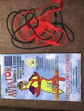 The Aviator Bird Harness and Leash Xl Red Pet Bird Attempted Twice.