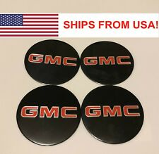 "4pcs Wheel Center Cap 3.5"" 88mm Decal/Sticker for GMC 1500 2500 3500 OG88"