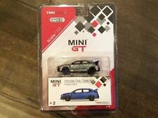 Mini GT 1:64 2018 Honda Civic Type R TSM Model MiJo Exclusives Diecast Chase Car