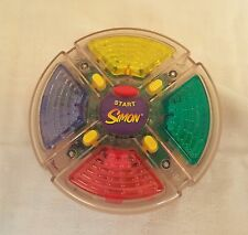 Vintage 'Simon Says' Hand Held Memory Electronic Game Lights Colors Pattern Fun