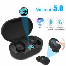 E6S TWS Bluetooth 5.0 Auriculares Auriculares Auriculares inalámbricos para iPhone Android