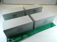 200uF1000Vcc condensatore ISKRA KNG1914 MKP (4 pezzi su scheda) rifasamento TUBE