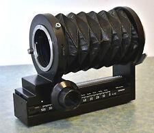 Leica R Balgengerät Balgen-Gerät Bellows mit Canon EOS Adapter