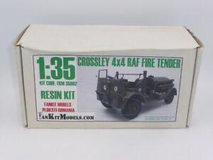 Fankit Models resin kit FKM 35002 Crossley 4x4 RAF Fire Tender 1:35 Scale