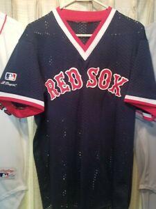 MLB NWOT VTG WADE BOGGS BOSTON RED SOX RAWLINGS JERSEY (sz44)  ⚾️ blue alternate