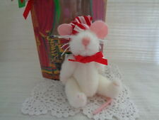 "North American Bear Co. ""MERRY CHRISMOUSE"" 1991 - MOUSE IN BOX"