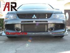VR Style Carbon Fiber Front Bumper Lip For 2006-2007 Mitsubishi Lancer EVO 9th