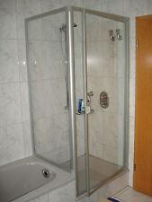Duschkabine 80x80 185/160 cm Drehtür + Seitenwand  verkürzt Duschabtrennung