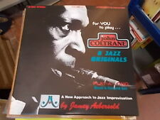 JOHN COLTRANE 8 JAZZ ORIGINALS PLAY A LONG VOLUME 27 JAMEY AEBERSOLD LP
