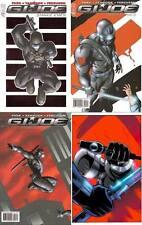 SNAKE EYES G.I. JOE #1 2 3 4 RAY PARK IDW 1st print set (4) IDW COMIC BOOK GI NM