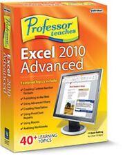 Professor Teaches Excel 2010 Advanced, Traning Lessons,Tutorials Courses