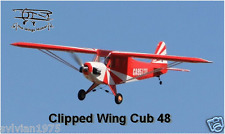 "63 ""  1600mm  1/6 Clipped Wing Cub .48 Scale Airplane"