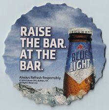 16 Labatt Blue Light Raise the Bar At The Bar  Beer Coasters
