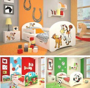 Toddler bed Children bed Kids bed +FREE MATTRESS+FREE DRAWER!!!!! 160x80 140x70