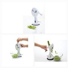 Bean Cutter Runner Slicer Kitchen Green Vegetable Shredder Rotary Tool 23 Cm