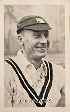 Cricket - autographed photo of Jack Hobbs  Surrey & England