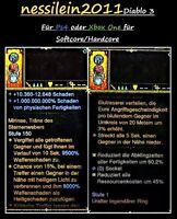 Diablo3 Ps4/Xbox One - 1.000.000.000% Damage Ring - Waffen -  Softcore/Hardcore