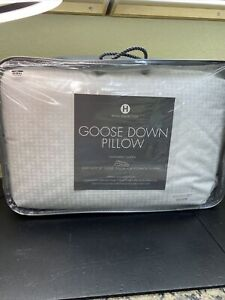 Hotel Collection (1)STANDARD Goose Down Pillow European SOFT Gusset Support $300