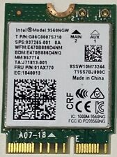 More details for intel dual band wlan wifi wireless m.2 ngff ac 9560ngw bt 5.0 card 01ax768 -w31