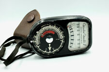 Vintage WESTON MASTER 2 Manual Analogue Light Meter with case