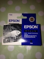 Cartucho de tinta de impresión negro Original EPSON impresora STYLUS 810 830 Modelos Etc Nueva