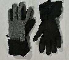 Trek Outdoor Gloves Sports Winter Ski Men's Small Fleece - Grey Mix