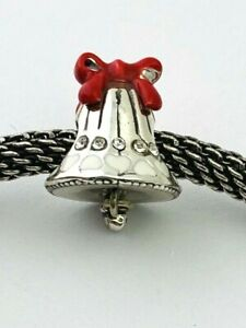 Brighton Joyful Bell Stopper, J95182, Silver, Enamel Finish/Crystals,  New