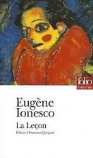La lecon (Folio Theatre), Ionesco, Eugene, Very Good Book