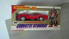 Diaclone Red Tracks Corvette Stingray Transformers Takara Japan gig trasformer