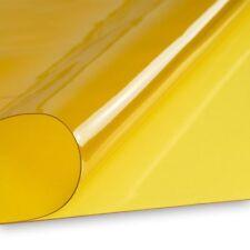 PVC Klarsichtfolie Schweißerschutzfolie gegen UV-Licht 0,50mm gelb Breite 140c..